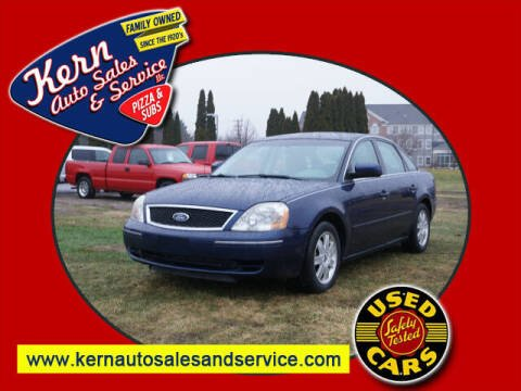 2005 Ford Five Hundred for sale at Kern Auto Sales & Service LLC in Chelsea MI
