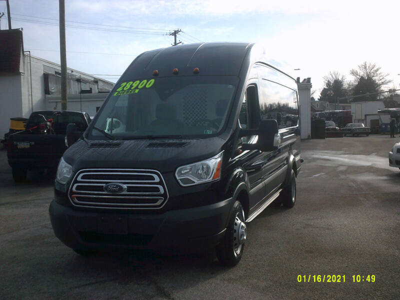 2017 Ford Transit Cargo for sale at M & M Inc. of York in York PA