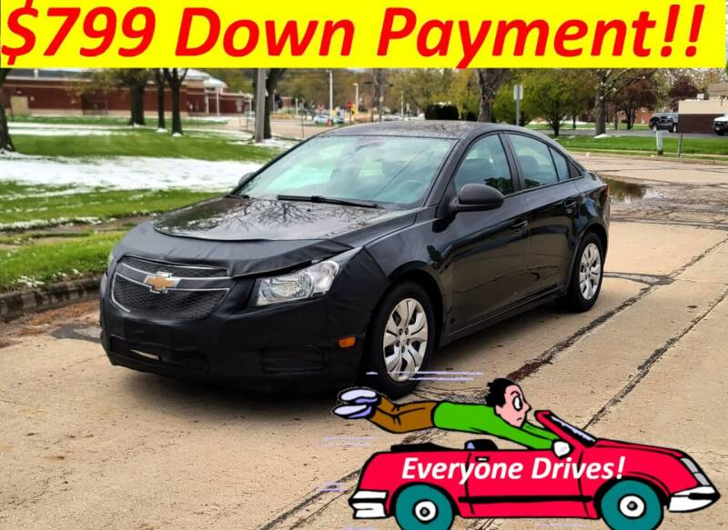 2013 Chevrolet Cruze for sale at World Automotive in Euclid OH