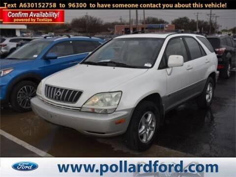 2003 Lexus RX 300 for sale at South Plains Autoplex by RANDY BUCHANAN in Lubbock TX