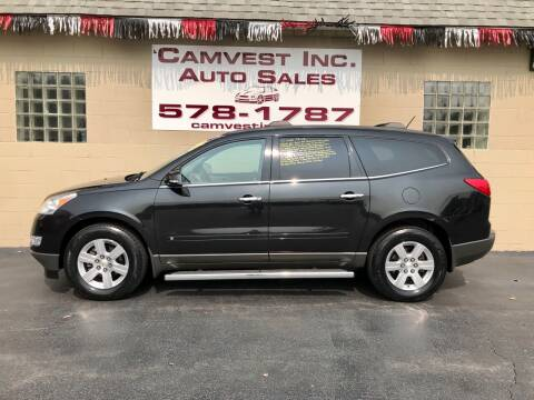 2010 Chevrolet Traverse for sale at Camvest Inc. Auto Sales in Depew NY