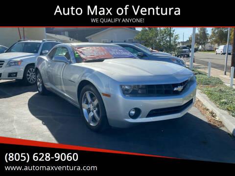 2010 Chevrolet Camaro for sale at Auto Max of Ventura - Automax 3 in Ventura CA
