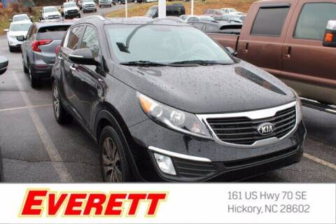 2013 Kia Sportage for sale at Everett Chevrolet Buick GMC in Hickory NC