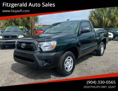 2012 Toyota Tacoma for sale at Fitzgerald Auto Sales in Jacksonville FL