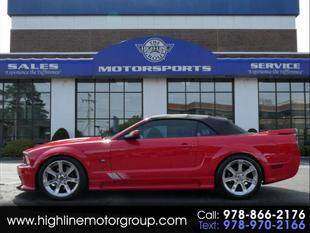 2006 Ford Mustang for sale at Highline Group Motorsports in Lowell MA