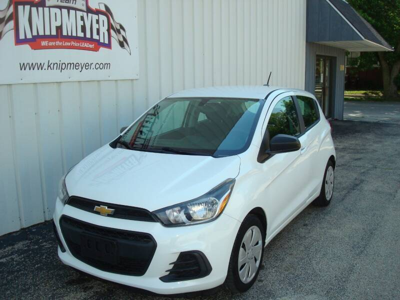 2016 Chevrolet Spark for sale at Team Knipmeyer in Beardstown IL