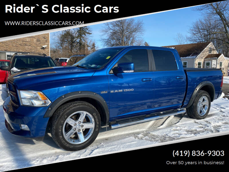 2011 RAM Ram Pickup 1500 for sale at Rider`s Classic Cars in Millbury OH