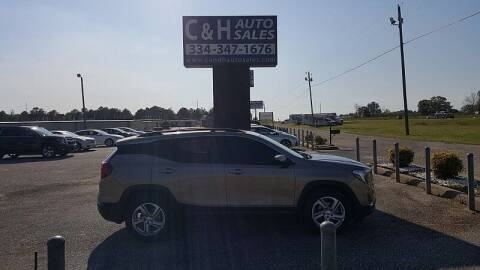 2018 GMC Terrain for sale at C & H AUTO SALES WITH RICARDO ZAMORA in Daleville AL