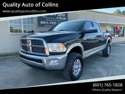 2010 Dodge Ram Pickup 2500 for sale at Quality Auto of Collins in Collins MS