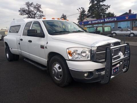 2008 Dodge Ram Pickup 3500 for sale at All American Motors in Tacoma WA