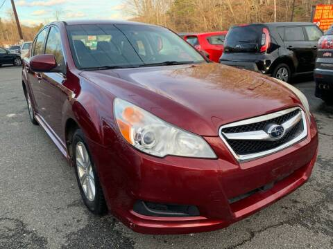2012 Subaru Legacy for sale at D & M Discount Auto Sales in Stafford VA