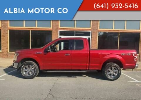 2019 Ford F-150 for sale at Albia Motor Co in Albia IA