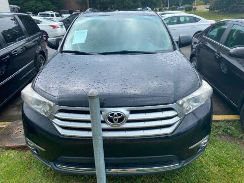 2011 Toyota Highlander for sale at J Franklin Auto Sales in Macon GA