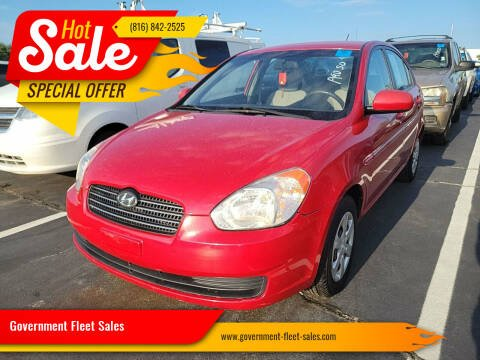 2011 Hyundai Accent for sale at Government Fleet Sales in Kansas City MO