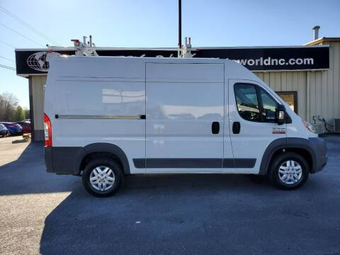 2015 RAM ProMaster Cargo for sale at AutoWorld of Lenoir in Lenoir NC