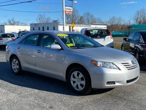 2008 Toyota Camry for sale at MetroWest Auto Sales in Worcester MA
