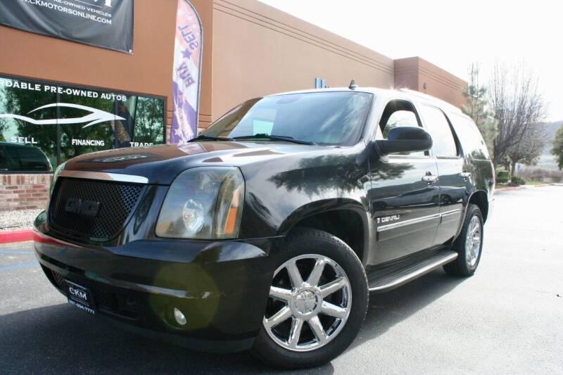 2009 GMC Yukon for sale at CK Motors in Murrieta CA