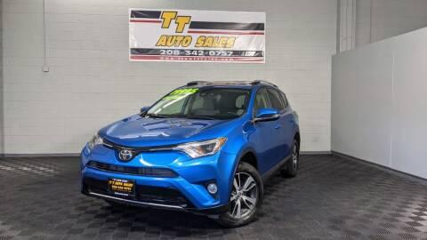 2017 Toyota RAV4 for sale at TT Auto Sales LLC. in Boise ID