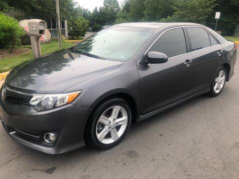 2013 Toyota Camry for sale at Dreams Auto Sales LLC in Leesburg VA