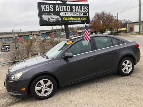 2011 Chevrolet Cruze for sale at KBS Auto Sales in Cincinnati OH