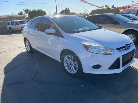 2014 Ford Focus for sale at CURIEL'S AUTO SALES LLC in Yuma AZ