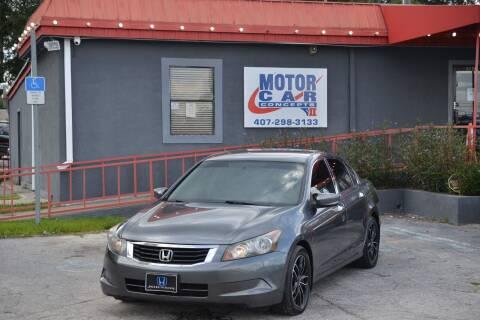 2008 Honda Accord for sale at Motor Car Concepts II - Kirkman Location in Orlando FL