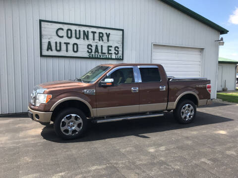 2011 Ford F-150 for sale at COUNTRY AUTO SALES LLC in Greenville OH