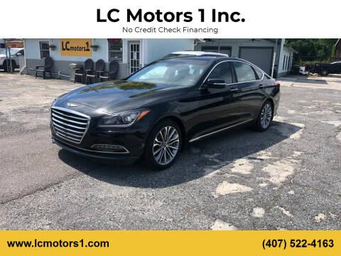 2016 Hyundai Genesis for sale at LC Motors 1 Inc. in Orlando FL