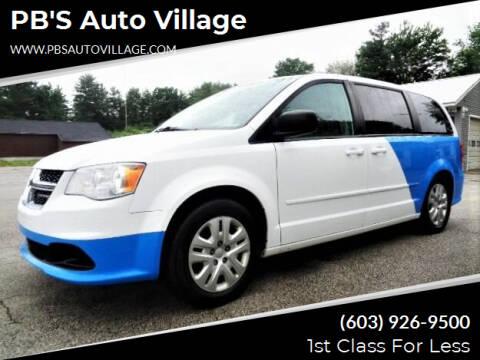 2017 Dodge Grand Caravan for sale at PB'S Auto Village in Hampton Falls NH