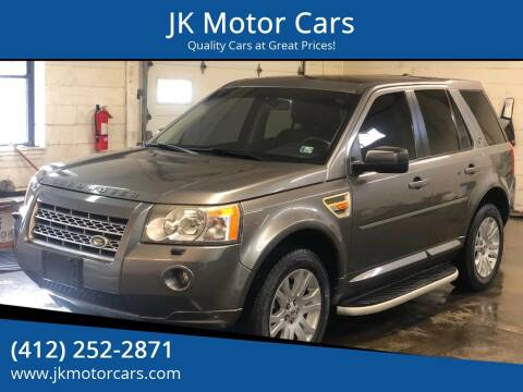 2008 Land Rover LR2 for sale at JK Motor Cars in Pittsburgh PA