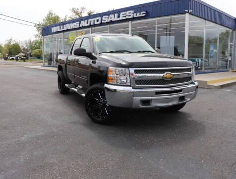 2013 Chevrolet Silverado 1500 for sale at Williams Auto Sales, LLC in Cookeville TN