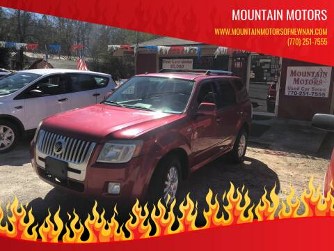 2008 Mercury Mariner for sale at Mountain Motors in Newnan GA