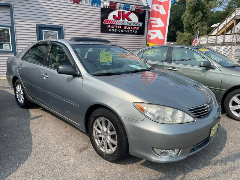 2005 Toyota Camry for sale at JK & Sons Auto Sales in Westport MA
