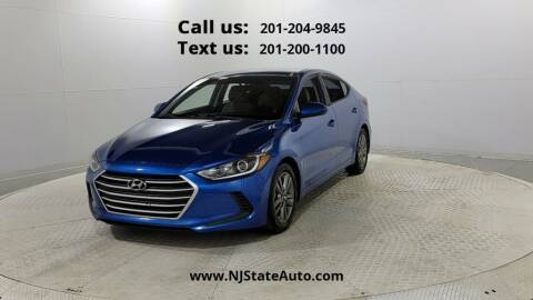 2017 Hyundai Elantra for sale at NJ State Auto Used Cars in Jersey City NJ