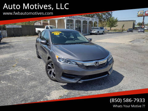 2017 Honda Accord for sale at Auto Motives, LLC in Fort Walton Beach FL