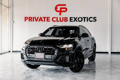 2021 Audi Q8 for sale at Private Club Motors in Houston TX