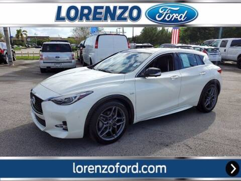 2018 Infiniti QX30 for sale at Lorenzo Ford in Homestead FL