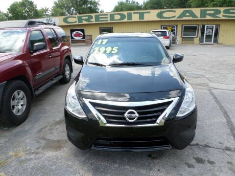 2017 Nissan Versa for sale at Credit Cars of NWA in Bentonville AR