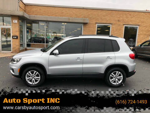 2017 Volkswagen Tiguan for sale at Auto Sport INC in Grand Rapids MI