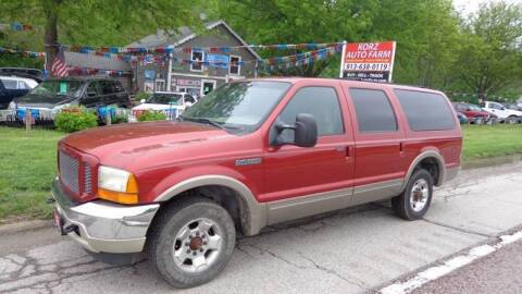 2001 Ford Excursion for sale at Korz Auto Farm in Kansas City KS