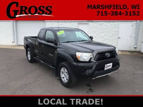 2013 Toyota Tacoma for sale at Gross Motors of Marshfield in Marshfield WI