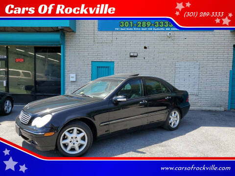 2002 Mercedes-Benz C-Class for sale at Cars Of Rockville in Rockville MD