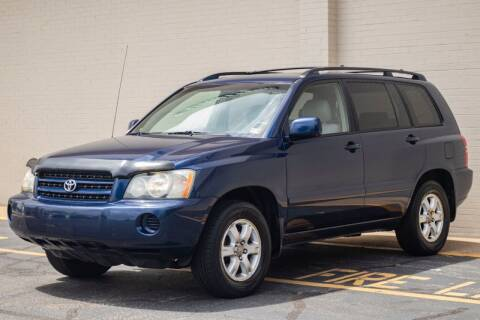 2003 Toyota Highlander for sale at Carland Auto Sales INC. in Portsmouth VA