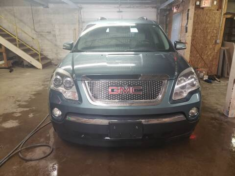 2009 GMC Acadia for sale at Fansy Cars in Mount Morris MI