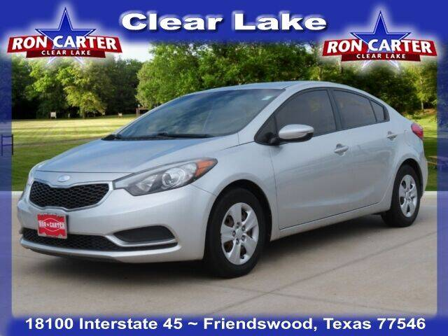 2014 Kia Forte for sale at Ron Carter  Clear Lake Used Cars in Houston TX