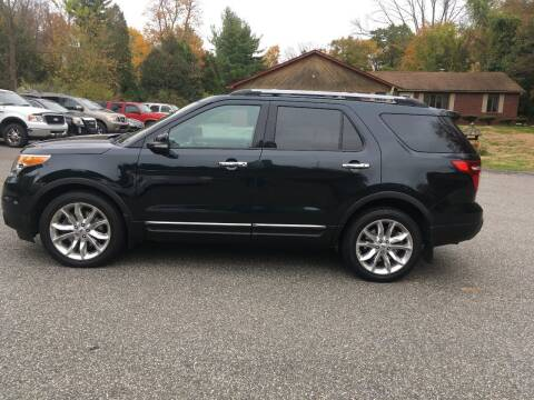 2015 Ford Explorer for sale at Lou Rivers Used Cars in Palmer MA