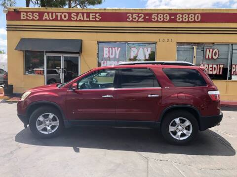 2009 GMC Acadia for sale at BSS AUTO SALES INC in Eustis FL