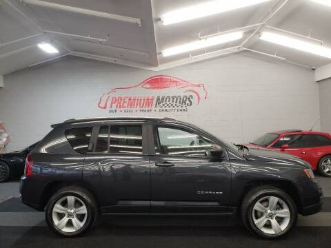 2016 Jeep Compass for sale at Premium Motors in Villa Park IL