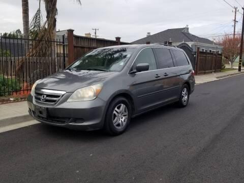 2007 Honda Odyssey for sale at Gateway Motors in Hayward CA