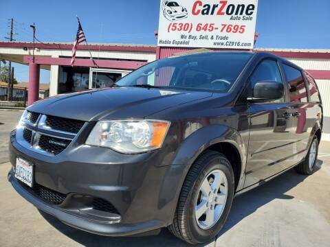 2012 Dodge Grand Caravan for sale at CarZone in Marysville CA